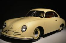 A look at the cars on display in the Porsche by Design: Seducing Speed exhibit at the North Carolina Museum of Art.