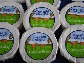 Chapel Hill Creamery Carolina Moon Cheese.