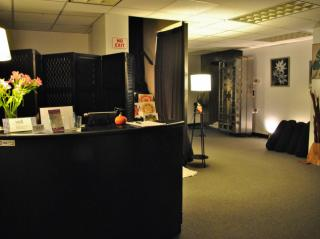 The Vault Yoga lobby.