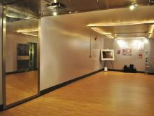 The Vault Yoga studio.