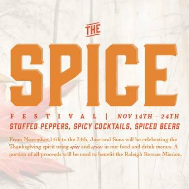 The Spice Festival at Jose and Sons