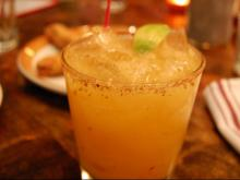 The Chipotle Mango Margarita at Jose and Sons.