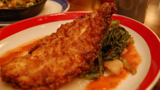 The Spiced Fried Chicken at Jose and Sons.