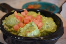The guacamole at Chuy's at North Hills in Raleigh.