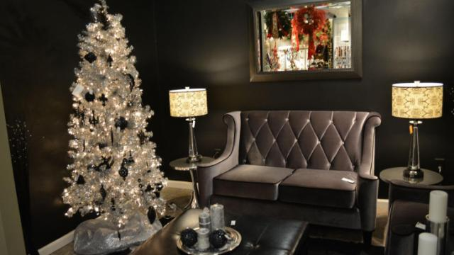 Furniture, decor and even holiday decorations are available at the Shops of Baileywick in Raleigh.