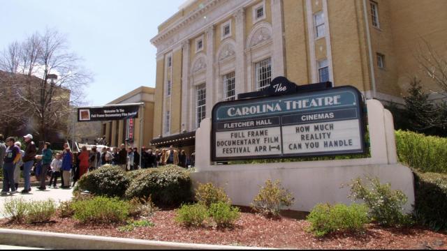 Full Frame Documentary Film Festival at the Carolina Theatre. Credit: Jeana Lee Tahnk and Durham Convention & Visitors Bureau