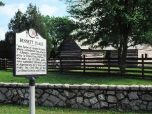 Bennett Place State Historic Site. Credit: Paul Liggett and Durham Convention & Visitors Bureau