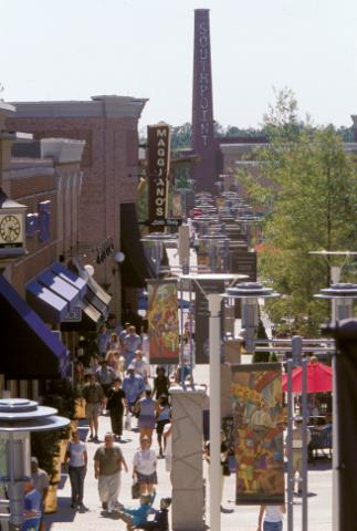 The Streets at Southpoint. Credit: Bruce R. Feeley and Durham Convention & Visitors Bureau