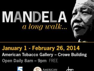 Mandela: A Long Walk runs at American Tobacc Campus through Feb. 26, 2014.