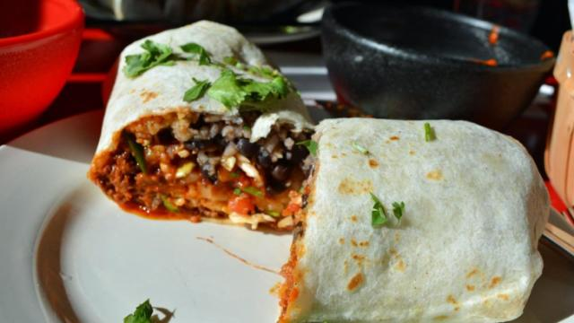 A burrito at Gringo a Go Go.