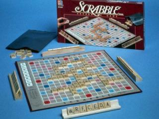 Scrabble game board (AP Image)