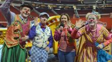 Ringling Bros. and Barnum and Bailey's Built to Amaze clowns