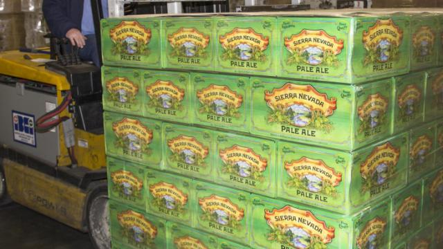 Sierra Nevada shipped its first North Carolina-brewed beer to the Triangle on Feb. 26, 2014. (Image from Sierra Nevada)