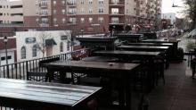 Hibernian Pub's new rooftop bar at their Glenwood Avenue location