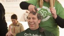 IMAGES: Hibernian hosts St. Baldrick's Shave-a-Thon