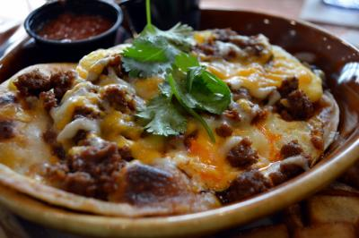 The Huevos Rancheros at Another Broken Egg in North Hills.