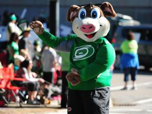 Raleigh held its 32nd annual St. Patrick's Day Parade on Saturday with a route through downtown.  The day continued with the Wearin' O' the Green Festival at the end of the parade route in City Plaza.  (Jeffrey A. Camarati/WRAL Contributor)