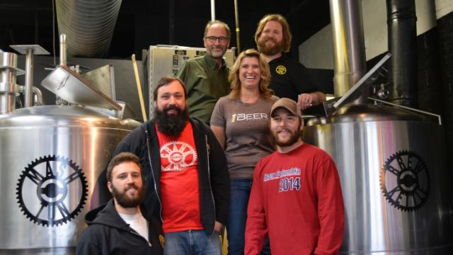 Crank Arm and All About Beer collaborated for a special brew for the World Beer Festival.