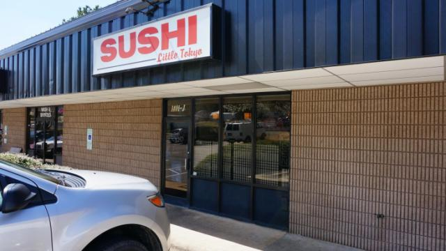 Sushi Little Tokyo is located at 1401 SE Maynard Road in Cary.