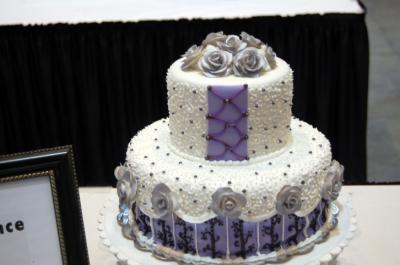 Wake Tech culinary students created these beautiful cakes to compete in the annual showcase and competition.