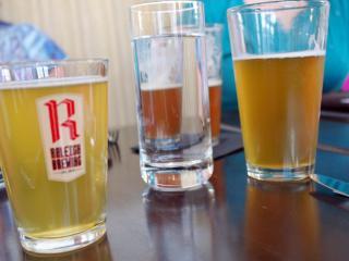 Oro, Raleigh Brewing beer dinner