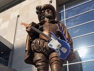 Sir Walter Raleigh gets in on the Rock 'n' Roll Raleigh action on Saturday, April 13, 2014.