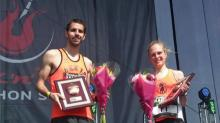 Top runners honored at post-race concert