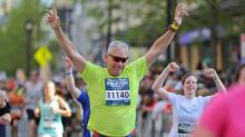 IMAGES: Rock 'n' Roll Marathon: Crossing the finish line