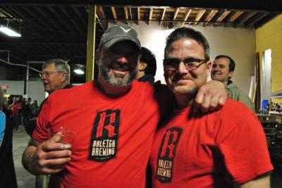Six local breweries competed in the Brewery Olympics at Raleigh Brewing Company for bragging rights on Saturday, April 19, 2014.