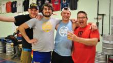 IMAGES: Brewers compete in Brewery Olympics