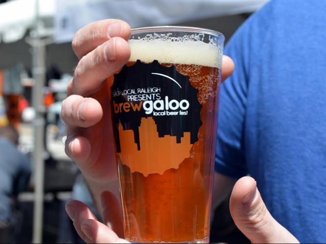 Brewgaloo was heled in downtown Raleigh on April 26, 2014.