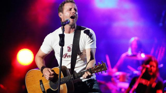 Dierks Bentley rocked Walnut Creek Amphitheatre on Saturday, May 10, 2014 in Raleigh, NC.  (Photo by Jack Morton)