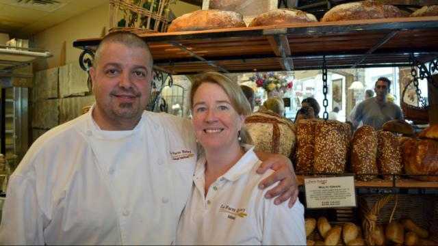 La Farm Bakery's Lionel and Missy Vatinet