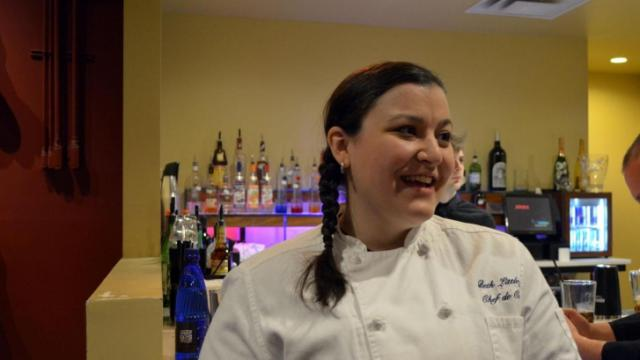 Coquette's Beth LittleJohn is one of the local chefs participating in Fire in the Triangle 2014.
