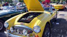 IMAGES: Vintage British vehicles visit North Hills