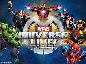 Marvel Universe Live! (Image from Ticketmaster)