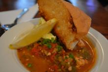 Seafood gumbo at LaPlace Louisiana Cookery