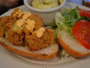 Oyster Po Boy at LaPlace Louisiana Cookery