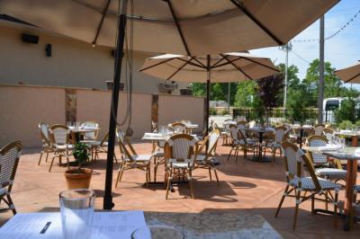 Gregoria's Cuban Steakhouse outdoor patio