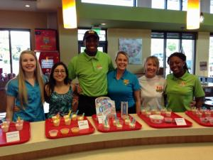 Employees at the PDQ in Raleigh competed for a shot to have their milkshake recipe added to menu at all of the chain's locations.