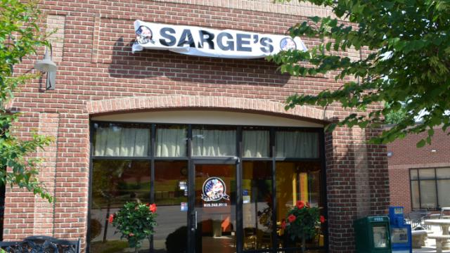 Sarge's will open in Rolesville in July 2014.