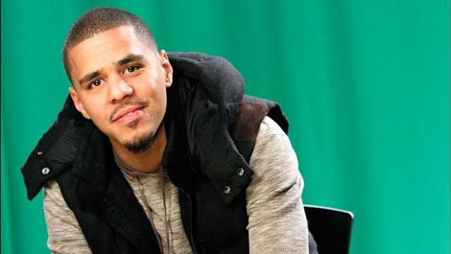 In this Jan. 27, 2012 photo, rapper J. Cole poses for a portrait in New York. (AP Photo/Mary Altaffer, file)