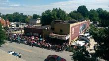 IMAGES:  J. Cole shows draw long lines outside Lincoln Theater