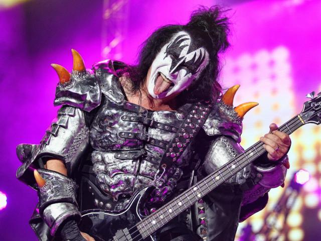 KISS in concert at Walnut Creek Amphitheater, Raleigh N.C. on July 20, 2014. (Chris Baird / WRAL Contributor).