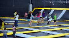 IMAGES: Jumping for joy: Indoor trampoline park expands to north Raleigh