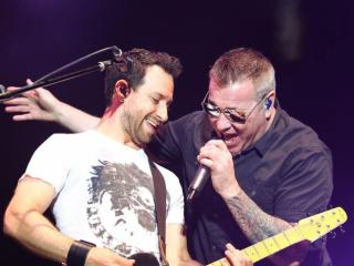 Smash Mouth on stage during Under the Sun Tour at Red Hat Amphitheater in Raleigh N.C. on August 1, 2014. (Chris Baird / WRAL Contributor).