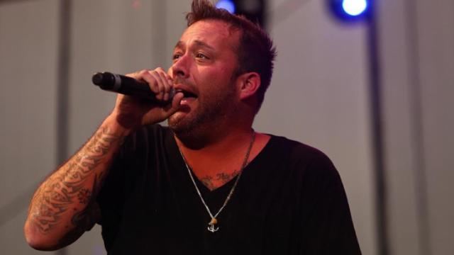 Uncle Kracker performing on Under the Sun Tour at Red Hat Amphitheater in Raleigh N.C. on August 1, 2014. (Chris Baird / WRAL Contributor).