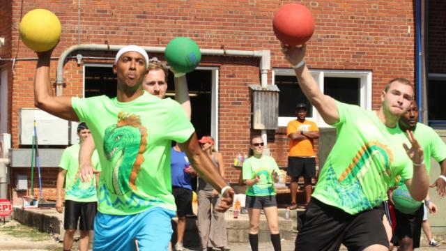 Raleigh International Dodgeball Charity Challenge
