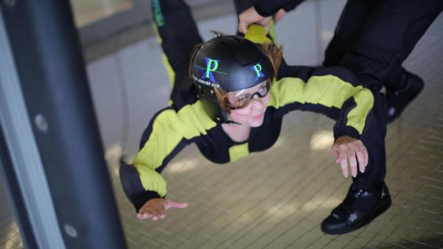 Out and About editor Kathy Hanrahan tries indoor skydiving at Paraclete XP in Raeford.