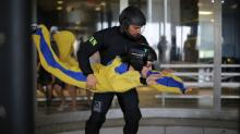 IMAGES: Flying through the air: Indoor skydiving in Raeford